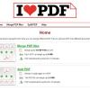 I Love PDF – PDF Dokumente mergen oder splitten