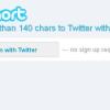 mehr als 140 Zeichen bei Twitter schreiben