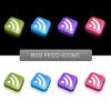 1000 stylische Web 2.0 Icons