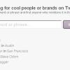 Plum.ly – Twitter Profile anhand der Biographie finden