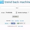 Trend Back Machine – Twitter Trends herausfinden