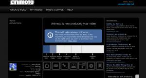 animoto-Video-Erstellung
